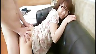 Dick in the asian ass girl